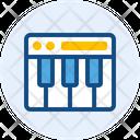 Piano Keyboard Musical Keyboard Icon