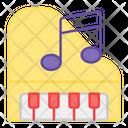 Piano Clavichord Musical Instrument Icon