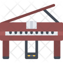 Piano Music Equipment Icon