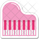 Piano Keyboard Music Icon