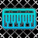 Piano Keyboard Instrument Icon