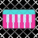 Baby Piano Instrument Icon