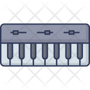 Piano Keyboard Piano Harmony Icon