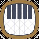 Piano Keyboard Keys Icon