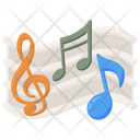 Piano Notes Icon