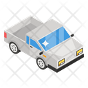 Pickup Goods Container Mini Truck Icon