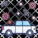 Pickup Goods Container Mini Truck Icon