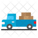 Pick Up Truck Icon