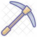 Pick Tool Construction Tools Pickaxe Icon