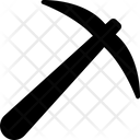 Bitcoin Mining Tool Pickaxe Mining Pickaxe Icon