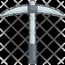 Pickaxe Construction Tools Icon