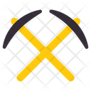 Pickaxes Hatchet Mattock Icon