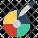 Picker Color Palette Icon