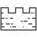 Picket Wall Fortification Wall Wall Icon
