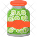 Pickled Cucumber Preserved Icon