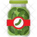 Cucumber Pickle Preserved Icon