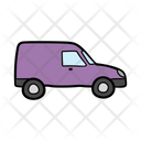 Pickup Van Automobile Icon
