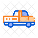 Agricultural Pickup Cargo Icon
