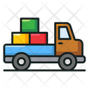 Delivery Truck Goods Delivery Logistics Icon