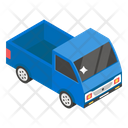 Pickup Truck Goods Container Mini Truck Icon