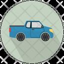 Pickup Truck Transport Vehicle Icon