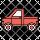 Pickup Truck United States America Icon