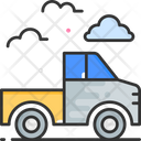 Pickup Truck Delivery Truck Delivery Icon
