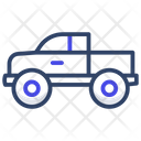 Pickup Truck Cargo Truck Luggage Carrier Icon