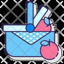 Mpicnic Picnic Picnic Basket Icon
