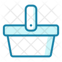 Picnic Basket Summer Icon
