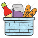 Basket Grocery Basket Picnic Basket Icon