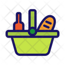 Product Basket Picnic Icon