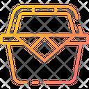 Picnic Basket Basket Food Basket Icon