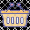 Picnic Basket Picnic Bucket Shopping Basket Icon