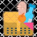 Picnic Basket Food Icon