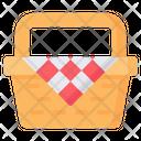 Picnic Vacation Camping Icon