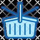 Season Picnic Basket Vacation Icon