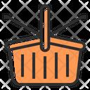 Picnic Basket Basket Shopping Bucket Icon