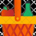 Picnic Basket Basket Food Icon
