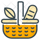 Picnic bucket Icon