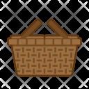Basket Picnic Summer Icon