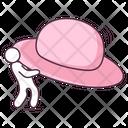Picnic Hat Fashion Hat Headgear Icon