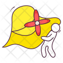 Picnic Hat Icon
