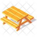 Picnic Table Icon