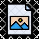 Picture File Document Icon