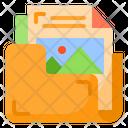 Picture Files Document Icon