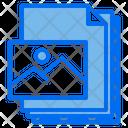 Picture Files Paper Icon