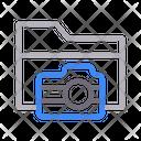 Folder Files Camera Icon