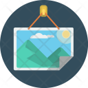 Picture Frame Image Icon