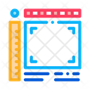 Picture Size Frame Icon